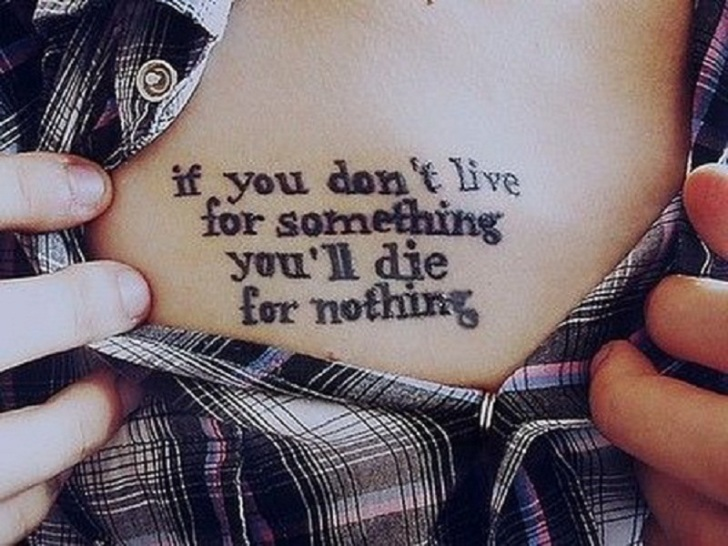 Meaningful Quotes forTattoos Ideas