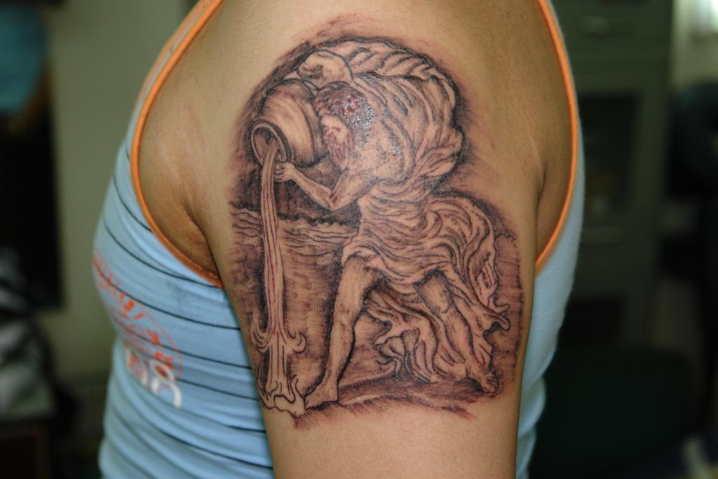 Integratrcom Body Tattoo Ideas Aquarius Design On Arm