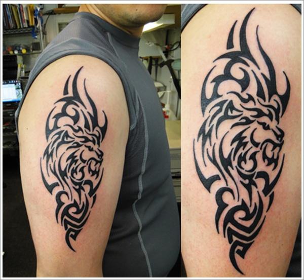 Integratr Com Body Tattoo Ideas Arm Tribal Lion Tattoo Design