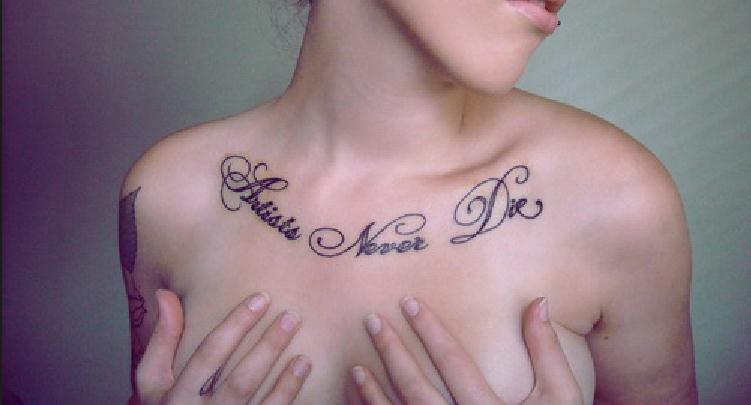 body tattoo ideas chest tattoo for first time