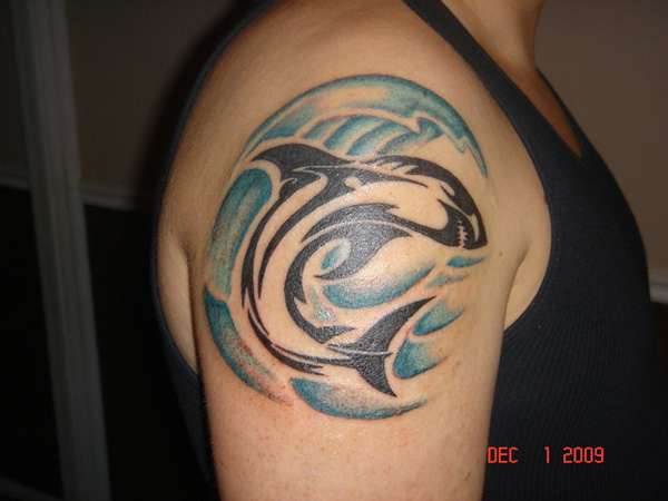 Integratr Com Body Tattoo Ideas Upper Arm Shark Tattoo Design