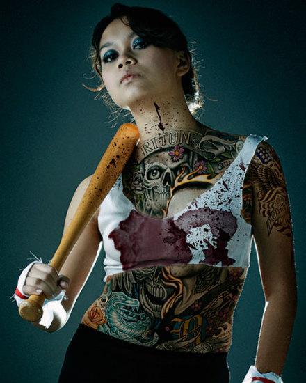 yakuza tattoo for women
